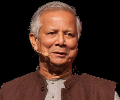 Nobel Peace Prize Winner &amp;<br /><i>Social Entrepreneur</i><br /><span>Muhammad Yunus</span>