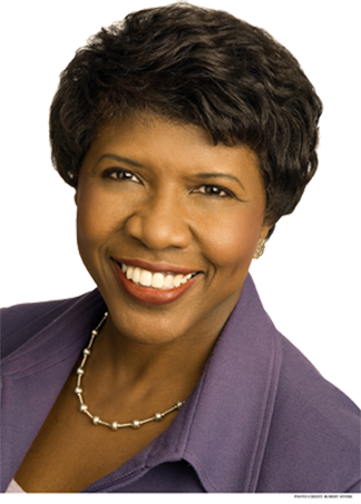 Acclaimed Journalist<br /><i>Washington Week <br />and PBS NewsHour</i><br /><span>Gwen Ifill</span>